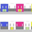 Fachadas- Tipologia Duplex