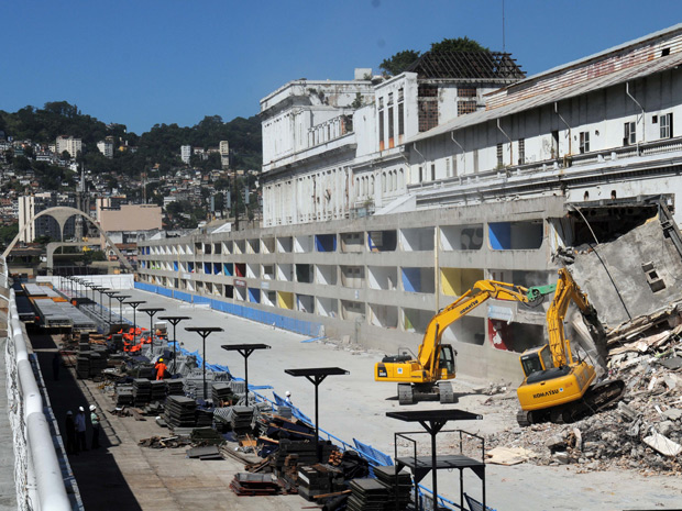 Amanhã começam às obras de ampliação do Sambódromo / Rio de Janeiro / RJ, Foto: J. P. Engelbrecht/Divulgação