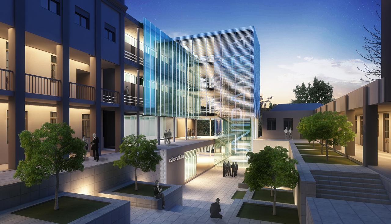 Concurso Público para Expansão do Campus Santana do Livramento - UNIPAMPA – RS – 1° Lugar / Idea1 Arquitetura, Cortesia Ideia1 Arquitetura