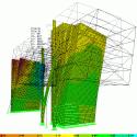 Diagrama Deformação Lateral Ventos