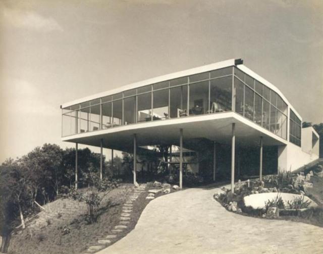 Clássicos da Arquitetura: Casa de Vidro / Lina Bo Bardi, © wordpress casasbrasileiras