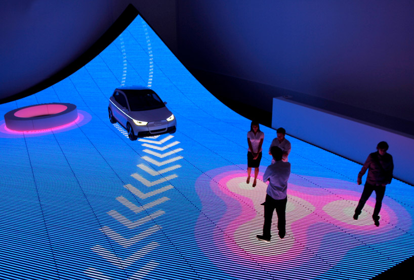 Instalação interativa de BIG para Audi em Miami / Miami, Estados Unidos, Cortesia BIG