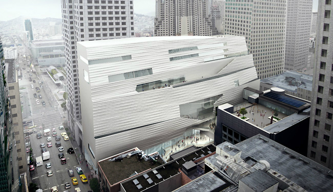Snøhetta projeta a ampliação do MOMA de San Francisco / San Francisco - Estados Unidos, © Snøhetta