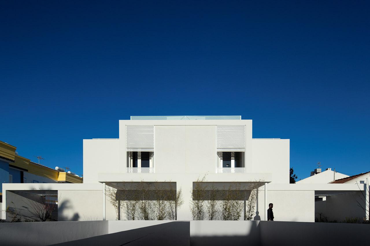 Duas Casas no Algarve / Posto 9, © FG+SG – Fernando Guerra, Sergio Guerra
