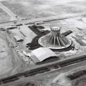 Foto aérea da construção