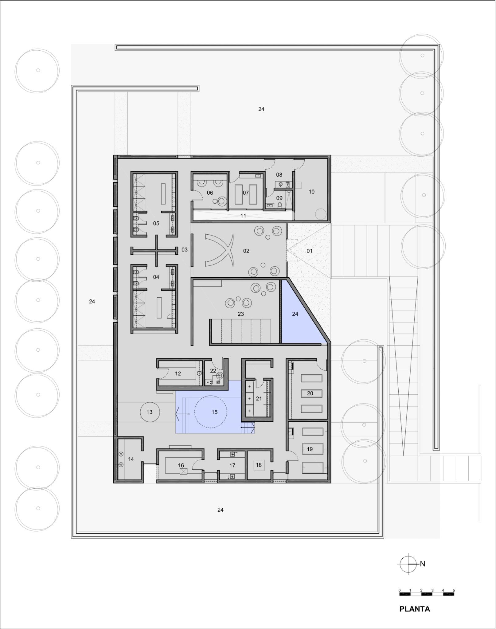 Massage Spa Floor Plans Galeria De Entre Cielos Hotel Amp Spa A4 Estudio 59