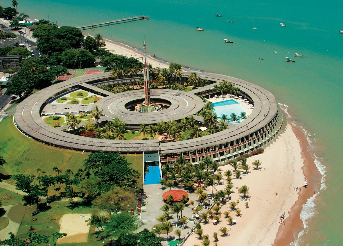 Clássicos da Arquitetura: Tropical Hotel Tambaú / Sérgio Bernardes, Vista aérea