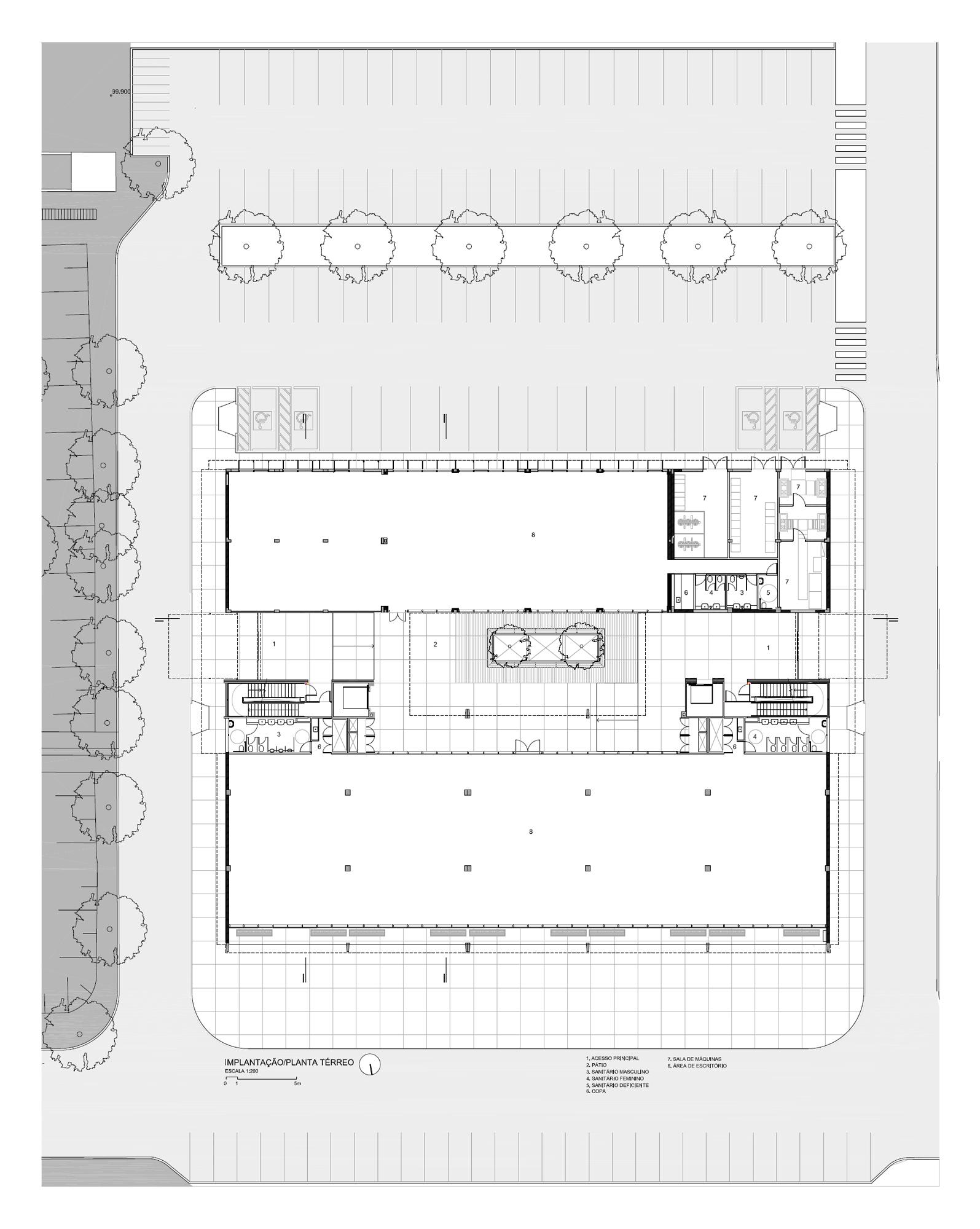 Super Galeria de Prédio 31 / Marcos Acayaba Arquitetos + Metrópole  JY75
