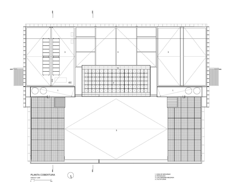 Suficiente Galeria de Prédio 31 / Marcos Acayaba Arquitetos + Metrópole  IC47