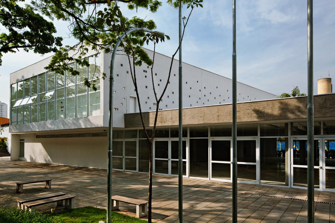 Centro de Formação dos Profissionais da Educação de São Caetano do Sul / Carolina Penna, © Nelson Kon