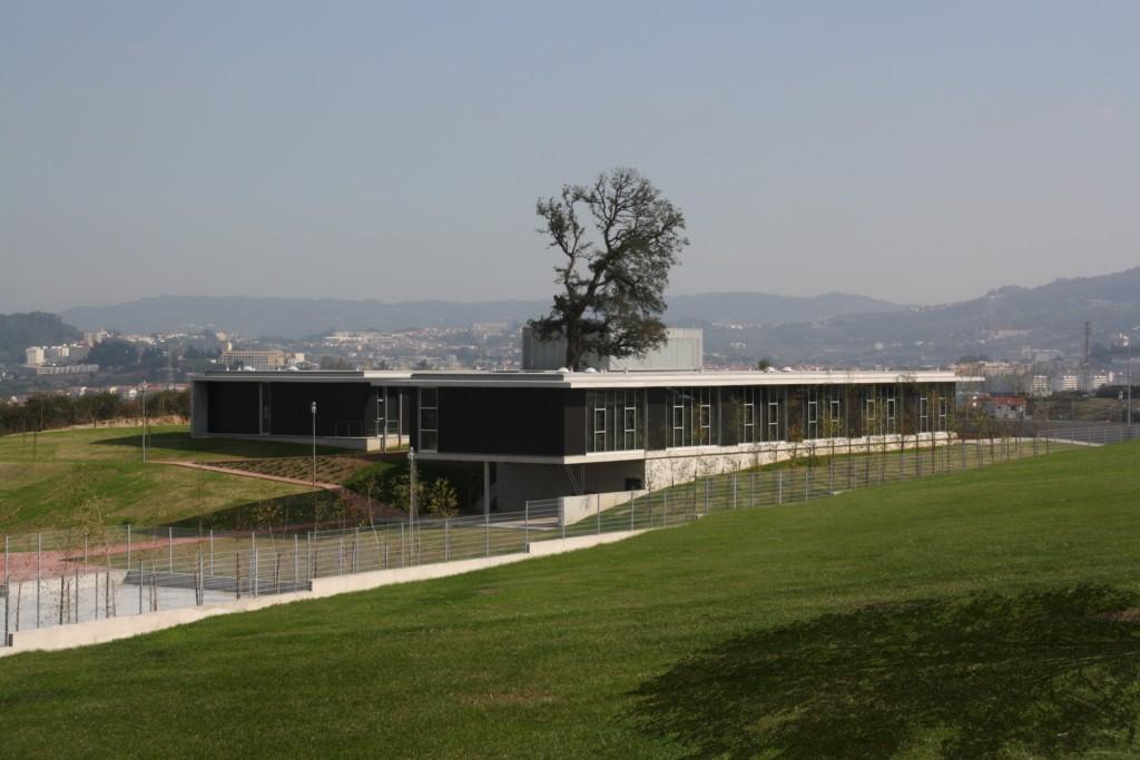 Centro Escolar de Candoso S. Martinho / Pitágoras Arquitectos, Cortesia Pitágoras Arquitectos
