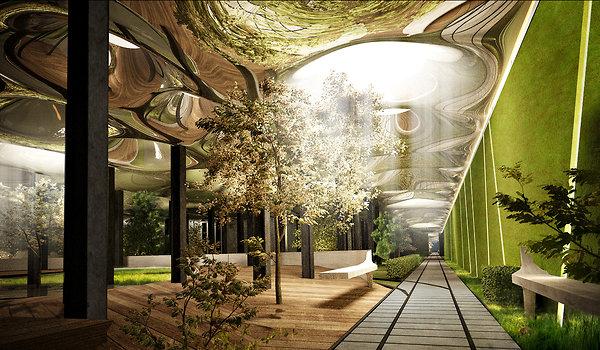 Low Line, o parque subterrâneo inspirado em High Line Park, © Raad Studio