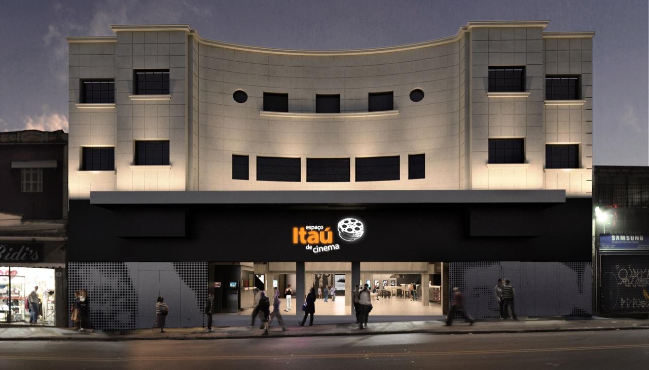 Espaço Itaú de cinema / METRO, Exterior Augusta