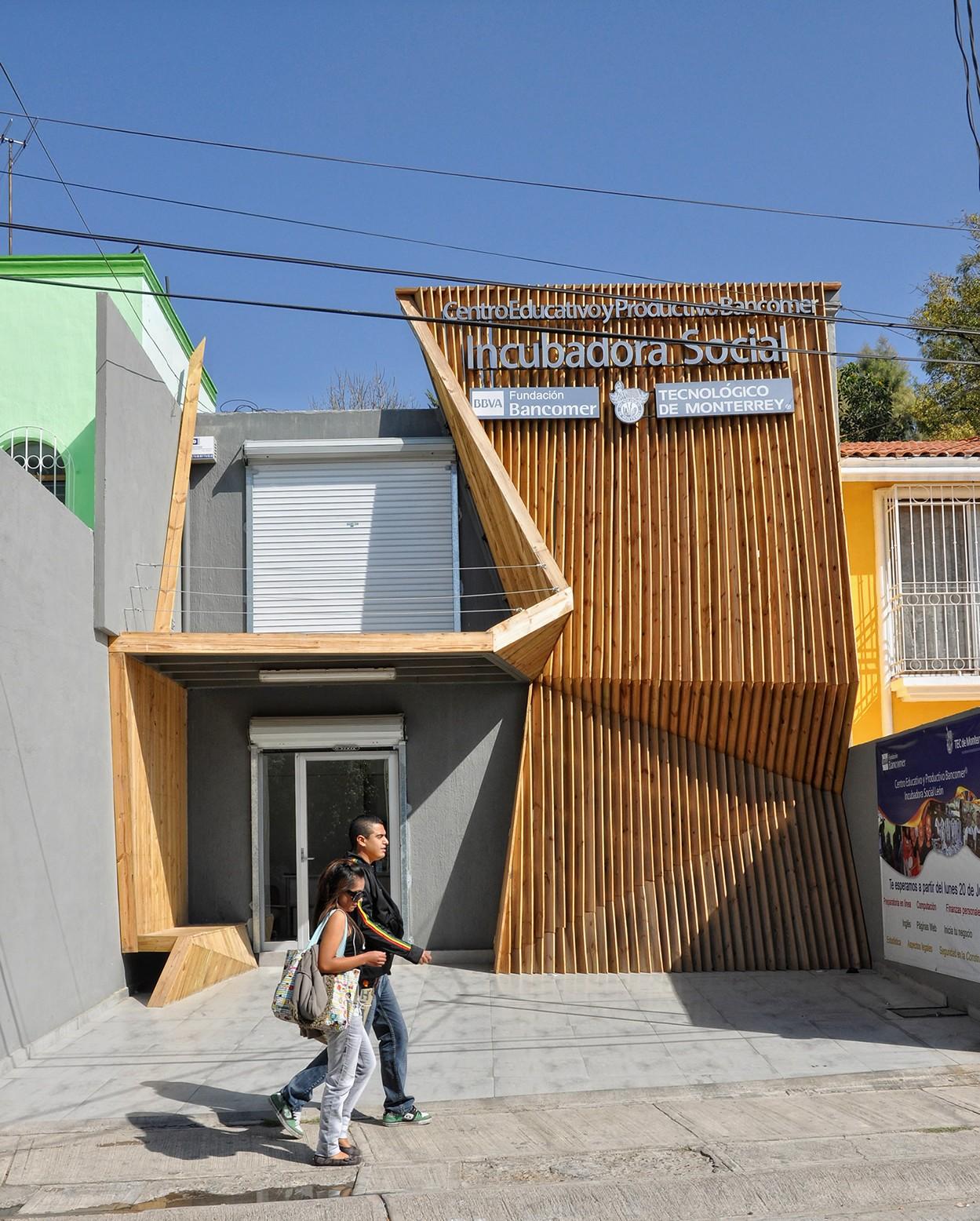 Incubadora Social ITESM-BANCOMER / Shine Architecture, Cortesia SHINE Architecture