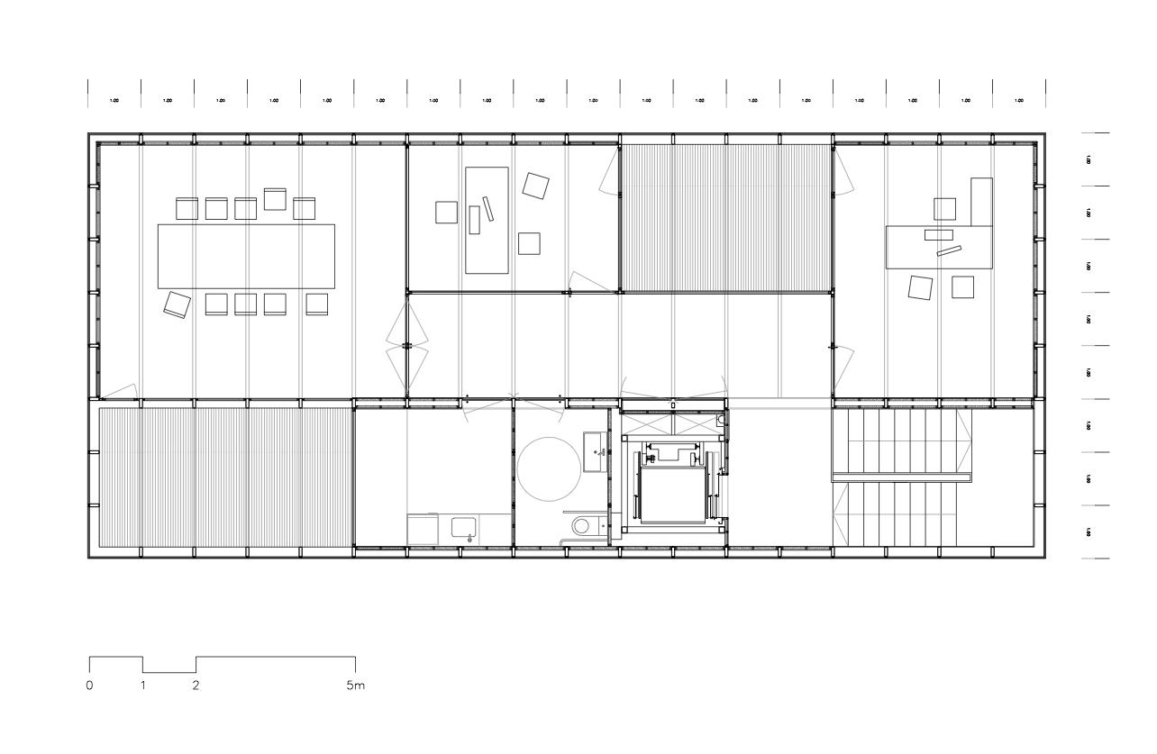 Galeria de sede do col gio territorial de arquitetos de for Plantas de colegios arquitectura