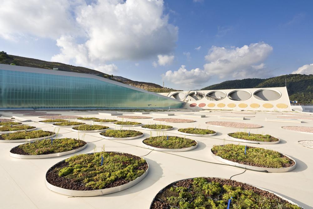 Planta de Tratamento de Resíduos / Batlle i Roig Arquitectes, © Francisco Urrutia