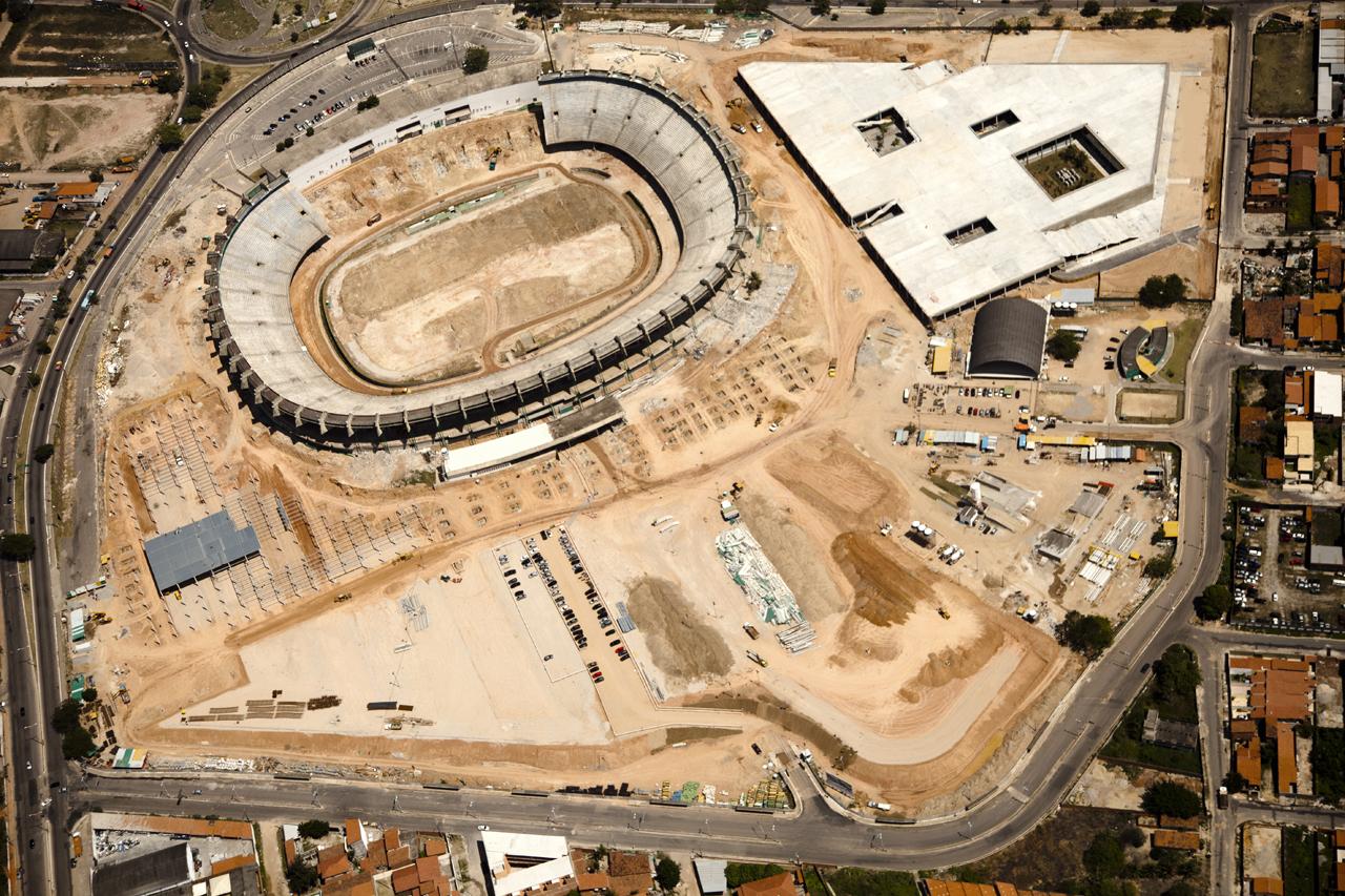Estádios da Copa 2014: Arena Castelão / VIGLIECCA & ASSOC, © Azul Serra