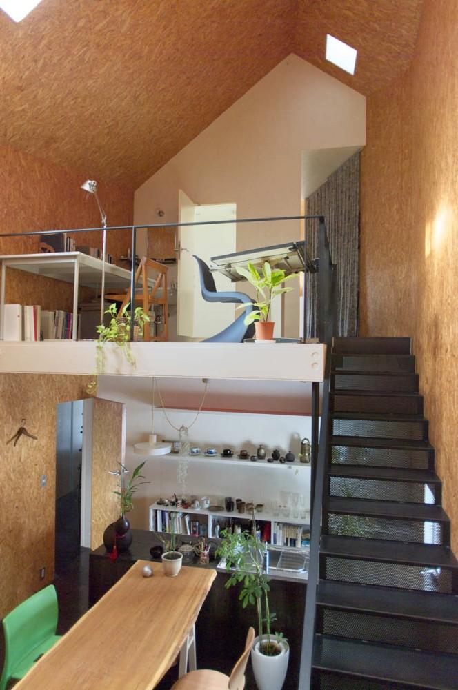 Casa Duplex em Tokito / Hidehiro Fukuda Architects, Cortesia Hidehiro Fukuda Architects
