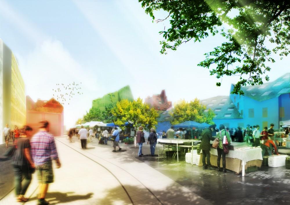 MVRDV elabora o plano diretor para a expansão da cidade de Bordeaux / França, © MVRDV