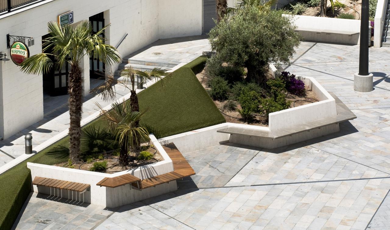Galeria de pra a da balsa vieja enrique m nguez mart nez 5 for Mobiliario espacio publico