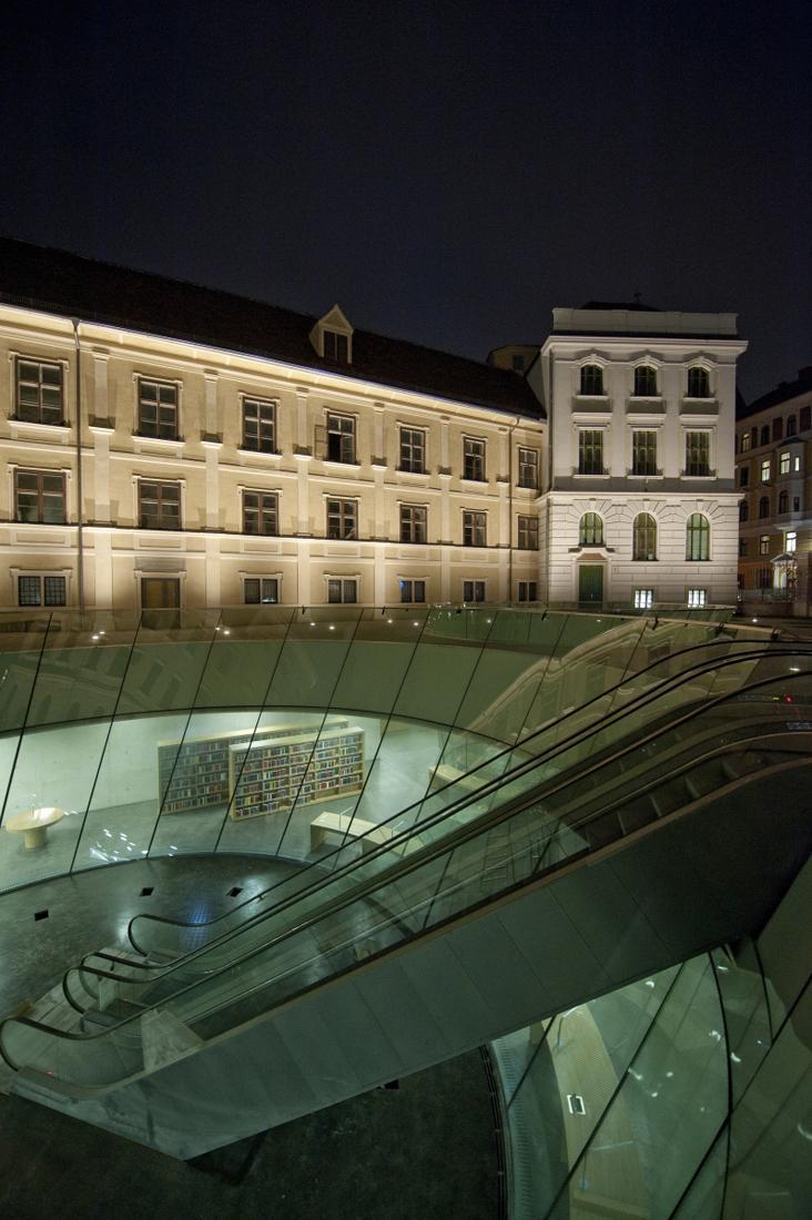 Ampliação do Museu Joanneum de Graz / Nieto Sobejano Arquitectos, © Roland Halbe