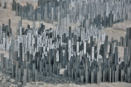 Ephemicropolis 2010, uma cidade criada com grampos