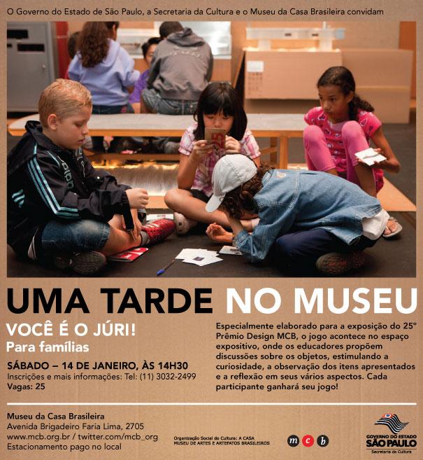 Uma tarde no Museu - MCB / São Paulo - SP, Cortesia MCB
