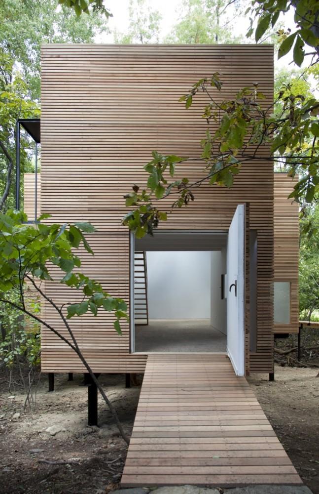 Espaço T / Steven Holl Architects, © Susan Wides