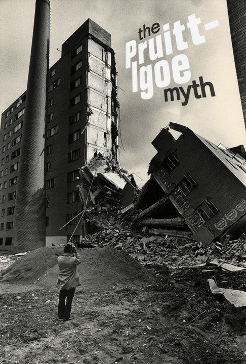 "Cinema e Arquitetura: Filme ""The Pruitt-Igoe Myth: an Urban History"", © Daniel T. Magidson"