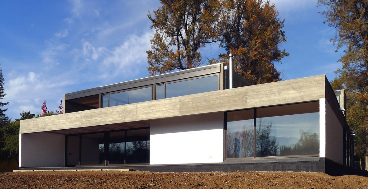 Casa em Machali / HLPS, Cortesia HLPS