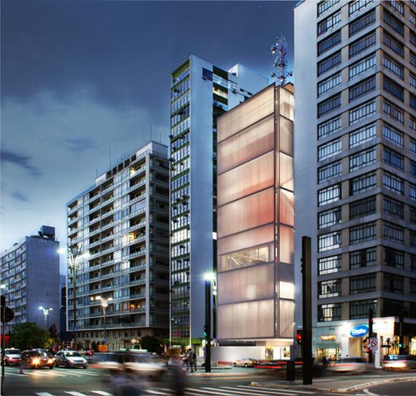 Projeto do Museu Instituto Moreira Salles /São Paulo - SP, Imagem via Concurso de Projeto