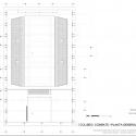 Coliseu Combate -  Planta Geral Arquibancadas