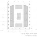 Coliseu Voleibol -  Planta Geral Arquibancadas