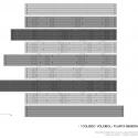 Coliseu Voleibol - Planta Geral Cobertura