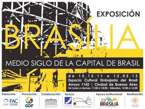 Exposição 'Brasilia: Medio siglo de la capital de Brasil' / Buenos Aires - Argentina