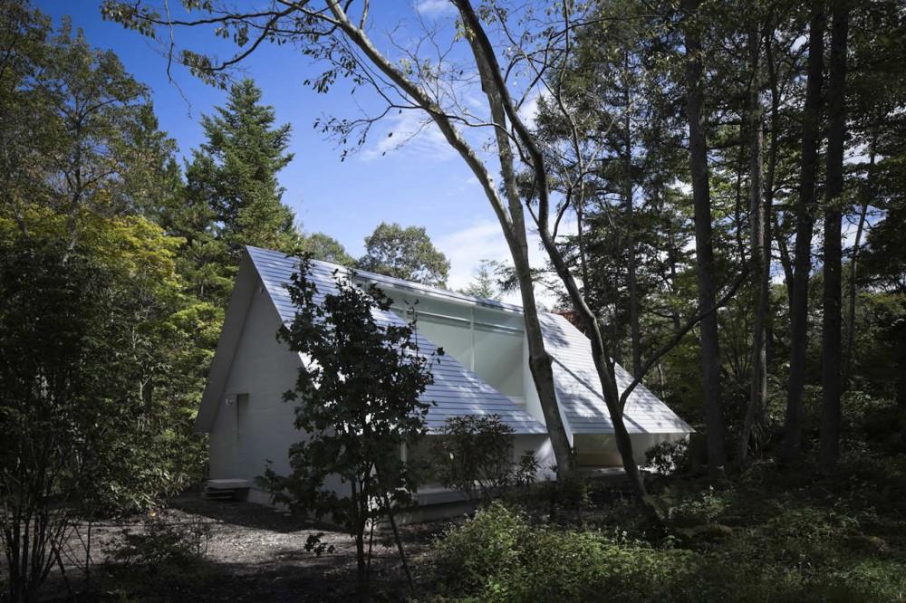 Forest Bath / Kyoko Ikuta Architecture Laboratory & Katsuyuki Ozeki + Ozeki Architects & Associates, © Tomohiro Sakashita