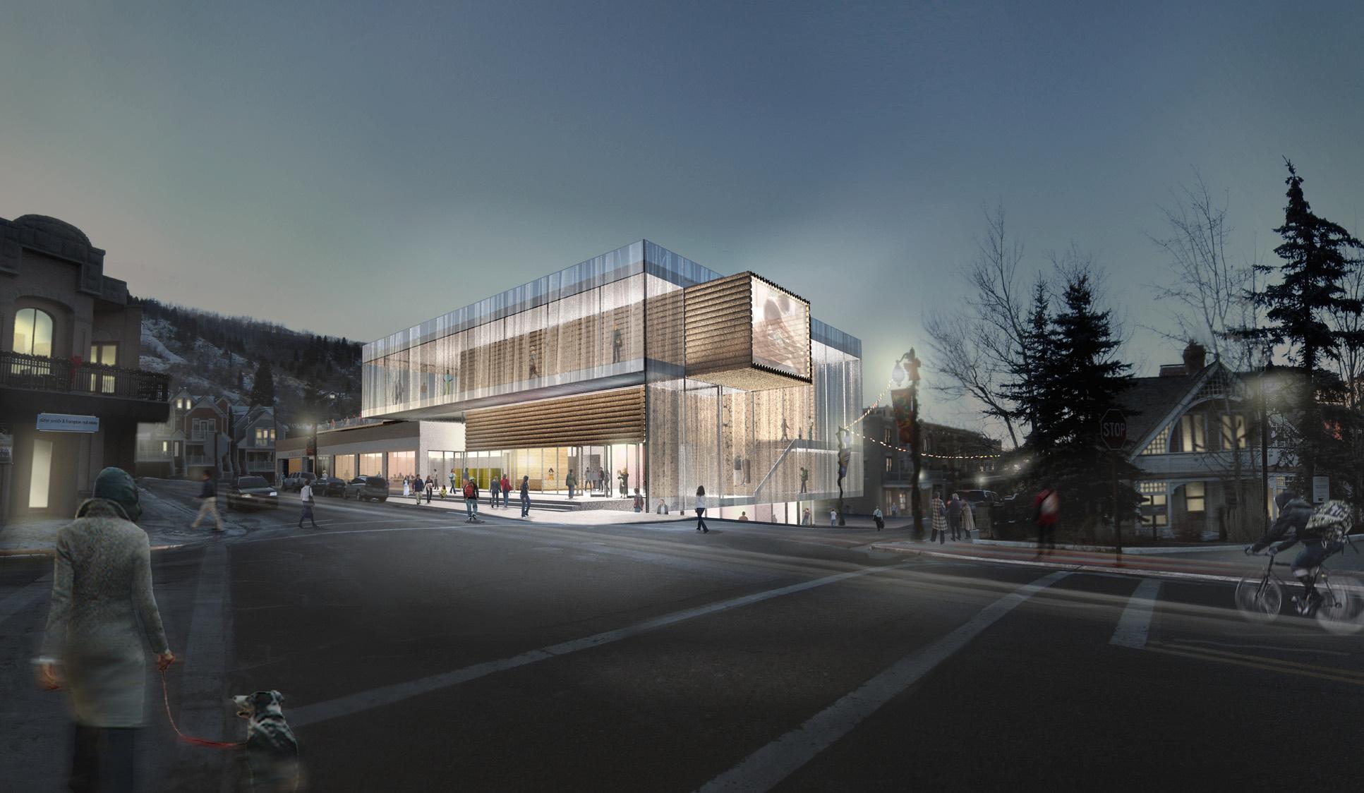 Finalista do concurso para o Centro de Arte Kimball / Sparano + Mooney Architecture, © Sparano +Mooney