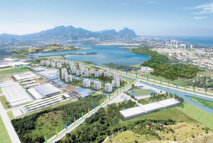 Secretário de Estado de Negócios Estrangeiros do Reino Unido visita o Brasil para estabelecer novas relações bilaterais, Vila Olímpica na Barra, © BCMF Arquitetos