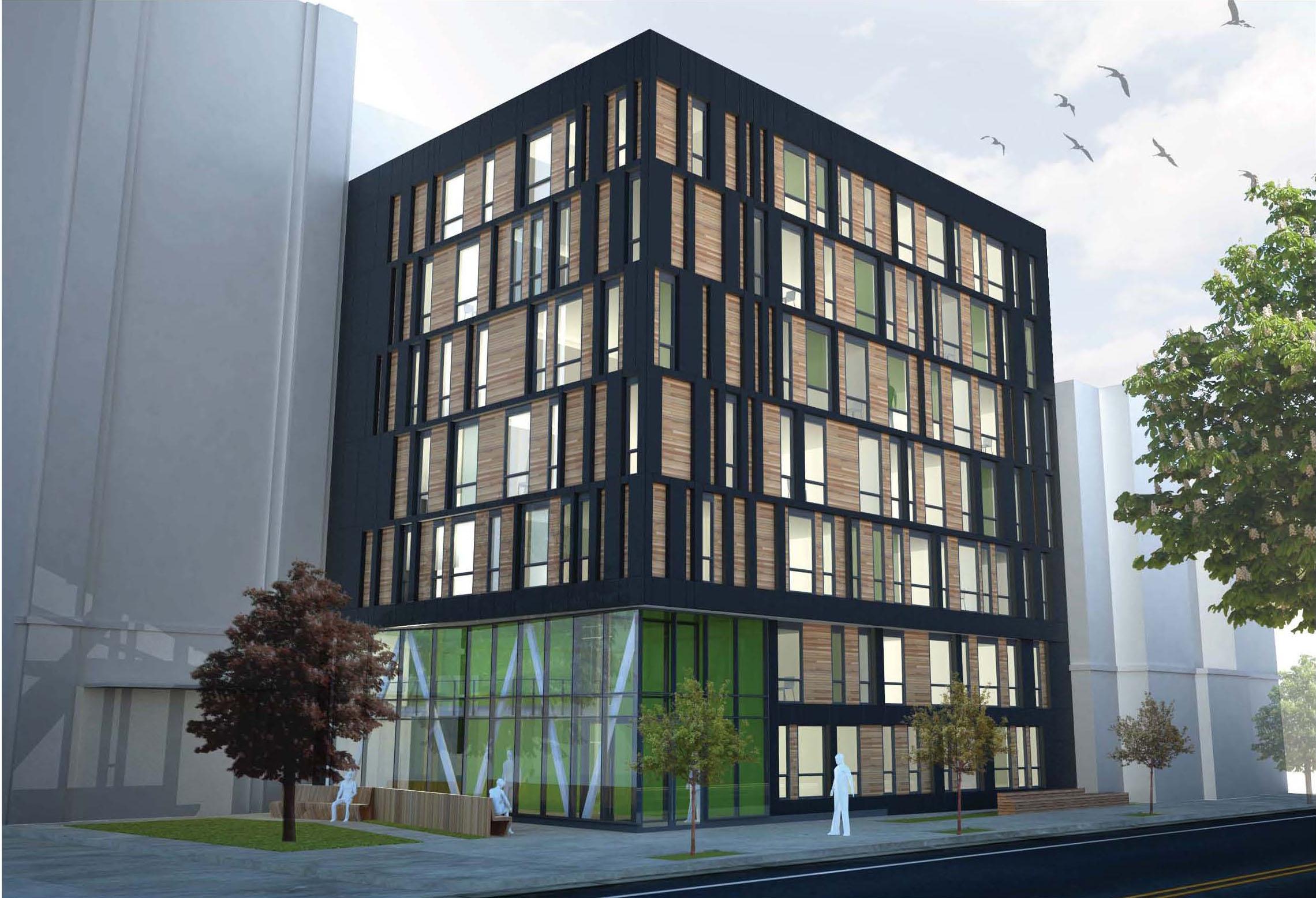 'La Casa' Habitação de Apoio / Studio Twenty Seven Architecture + Leo A Daly, Cortesia Studio Twenty Seven Architecture + Leo A Daly