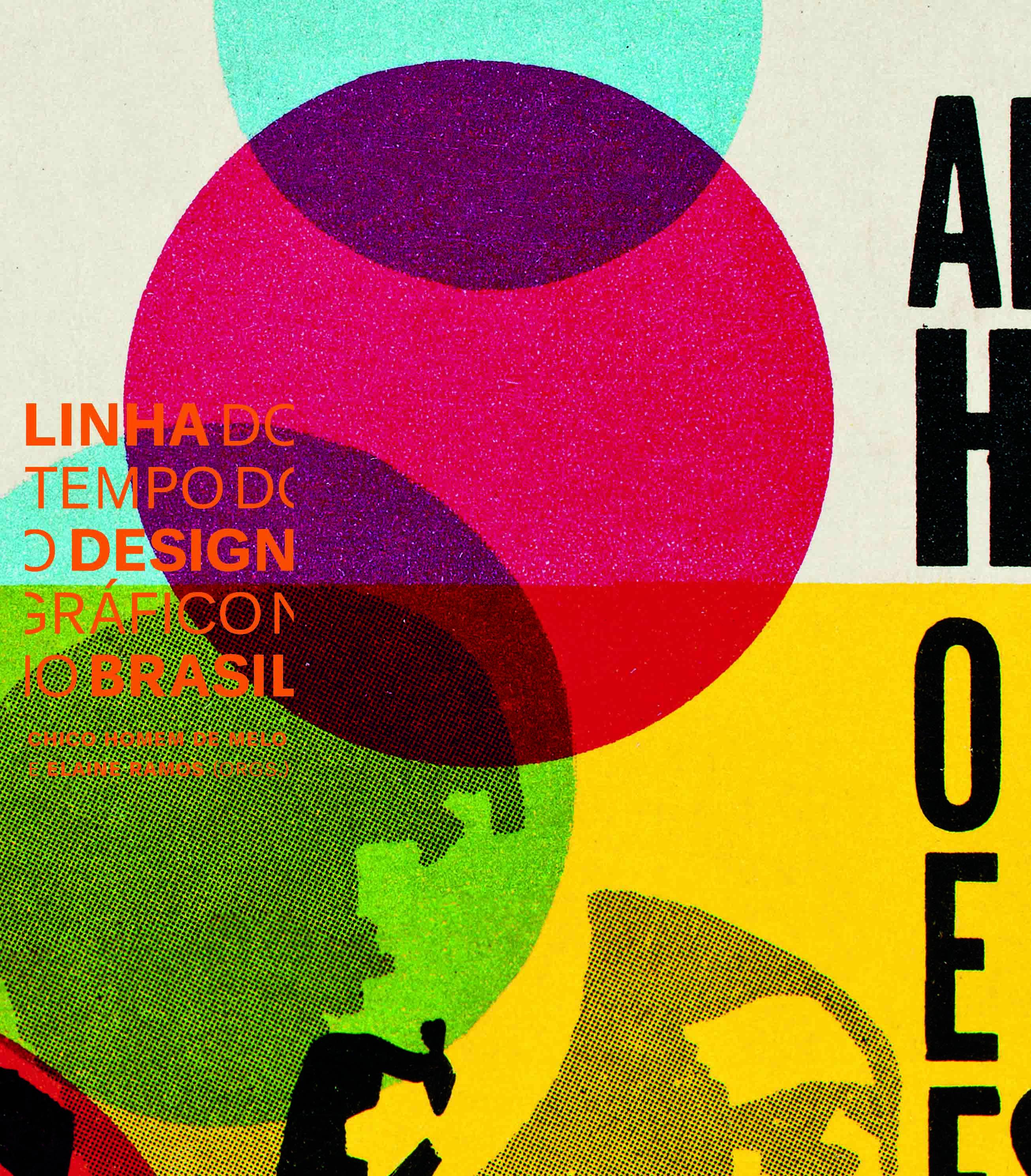 """Lançamento do livro: """"Linha do Tempo do Design Gráfico no Brasil"""", Cortesia Cosac Naify"""