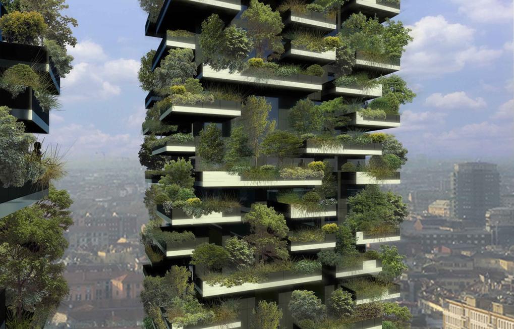Em Construção: O Primeiro Bosque Vertical / Boeri Studio, Imagem 3D