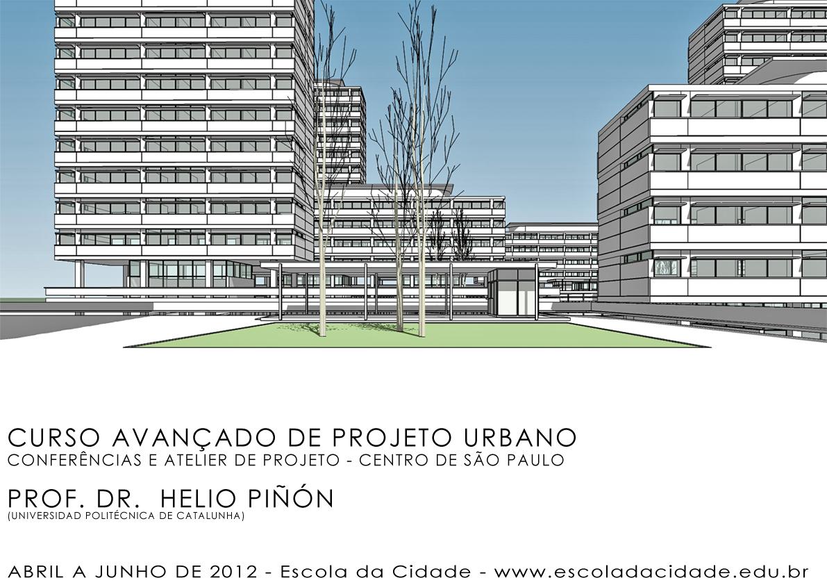 Escola da Cidade promove curso com o Arquiteto Hélio Piñón, Cortesia Escola da Cidade