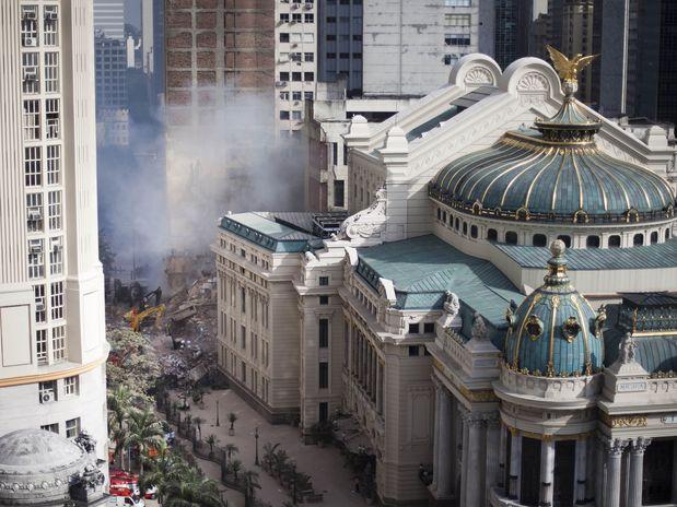Desabamento de edificações no Rio de Janeiro, ©  /AP