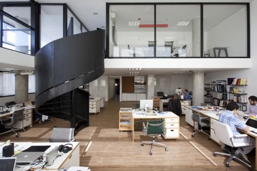 Ag ncia santa clara sub est dio archdaily brasil for Interior design pr agency