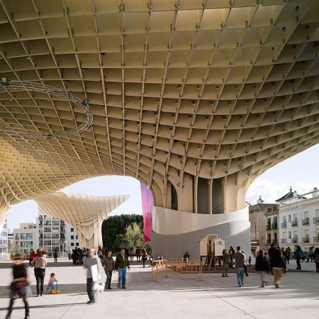 metropol parasol j rgen mayer h architects archdaily brasil. Black Bedroom Furniture Sets. Home Design Ideas