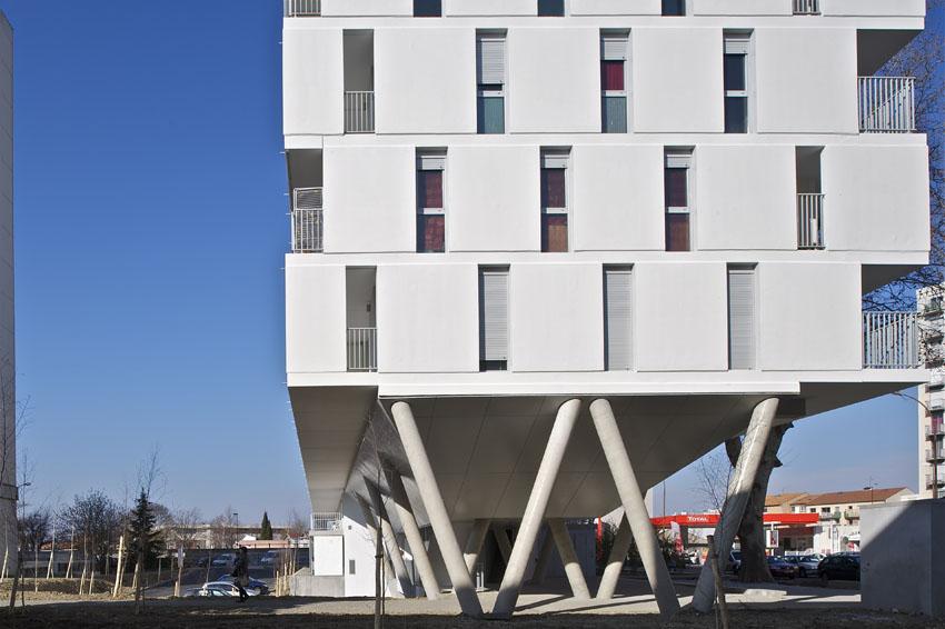 Habitação Social em Toulouse / PPA, © Philippe Ruault