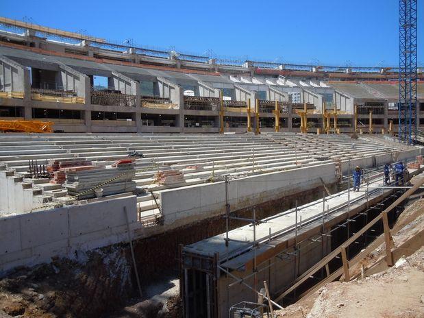 Novo Maracanã com 30% das obras concluídas / Rio de Janeiro - RJ, © André Naddeo/Terra