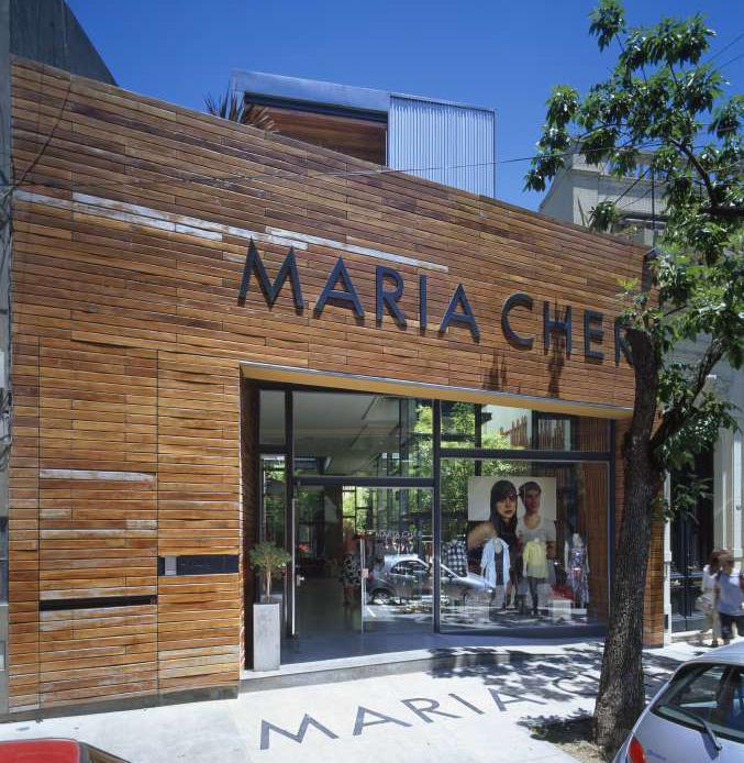 Loja María Cher / Mathías Klotz, © Roland Halbe