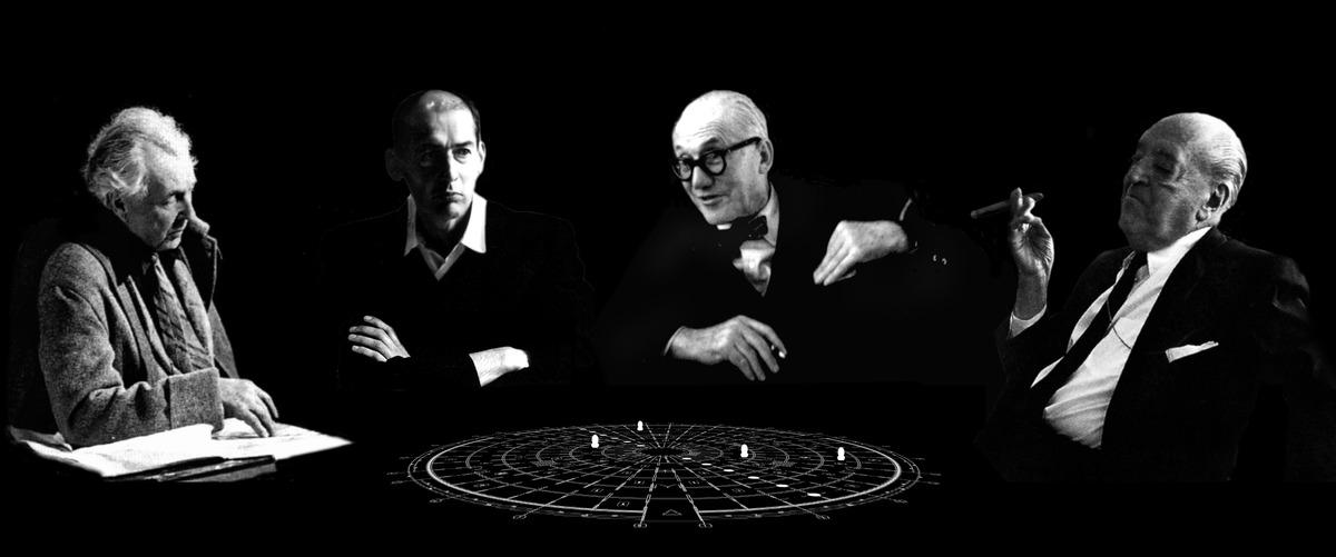 """NEXT Architects desenha o jogo de tabuleiro """"Modern Architecture Game"""", Modern Architecture Game"""