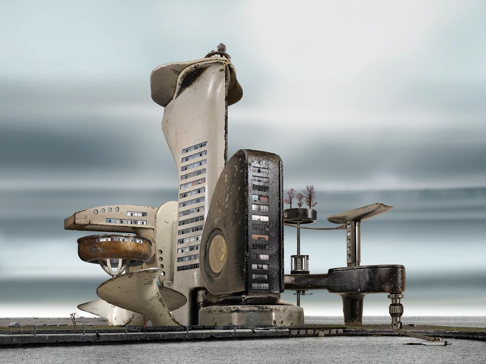 Arte e Arquitetura: Habitat Machines, David Trautimas, © David Trautimas